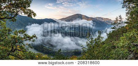 Morning Over Domasinsky Meander