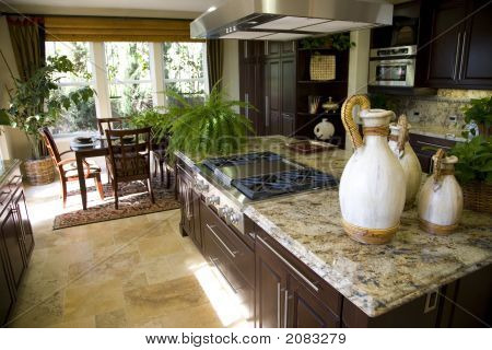 Kitchen And Island 1422