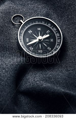 Pocket Compass. compass for have an adventure in nature