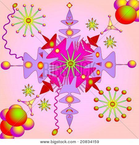 Abstract fantasy vector illustration