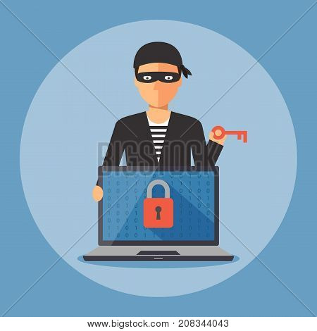 Cyber Security And Crime Concept