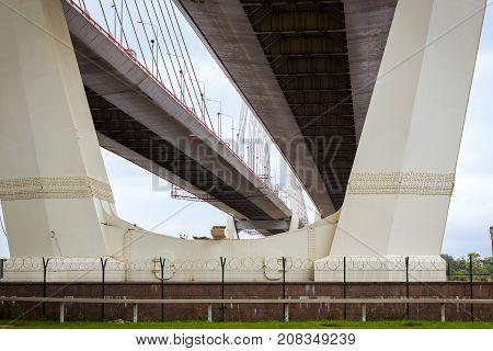 Big Obukhovsky Cable-stayed Bridge, St. Petersburg