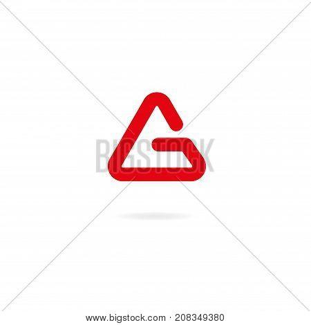 Letter G Logo Icon Design Template Elements. Vector Color Sign.
