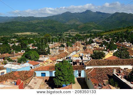Trinidad city the most tourist city on Cuba