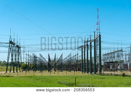 A big relay station seen in Germany