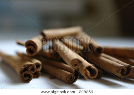 Sticks Of Cinnamom Spice