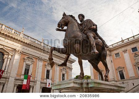 On Piazza Del Campidoglio