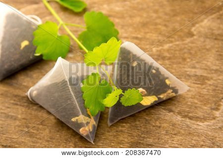 Teabags With Melissa (mint)