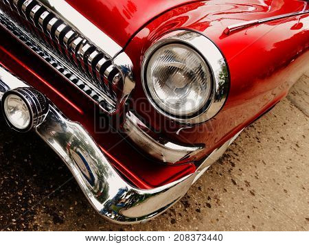 Old rare car wallpaper background topical car vintage retro style fashion 60s 70s 80s trend chrome charm time classic
