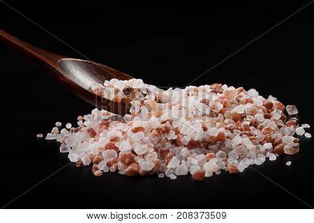 Spoon In Pile Of Salt