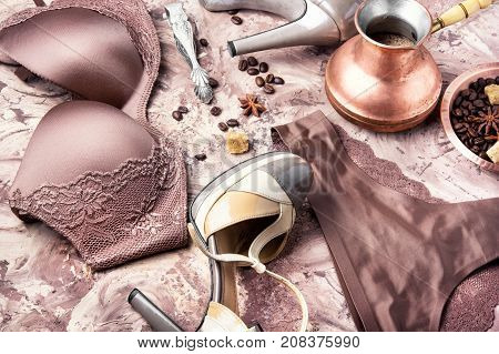 Lingerie And Coffee