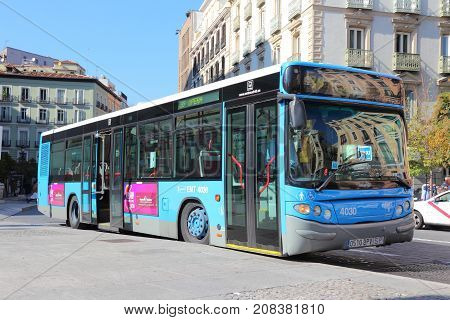Public Transportation In Madrid