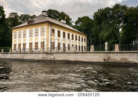 ST PETERSBURG, RUSSIA - SEPTEMBER 12: Summer Palace on September 12, 2017 in St Petersburg, Russia. The palace was built in 1710.