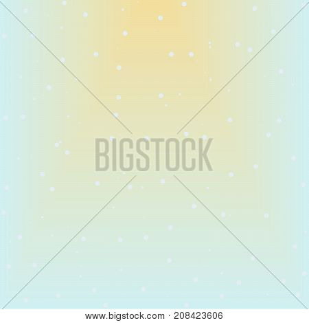 Seamless abstract snow pattern raster, blue background