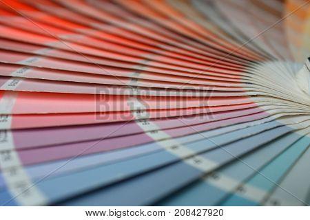 open RAL pantone sample colors catalogue .