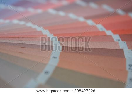 RAL pantone sample colors catalogue . .