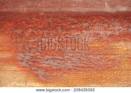 rough grunge rusty zinc tin galvanized wall background
