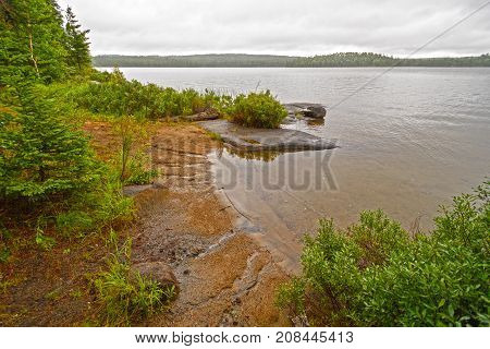 Hidden Cove on Tuscarora Lake in the Boundary Waters in Minnesota