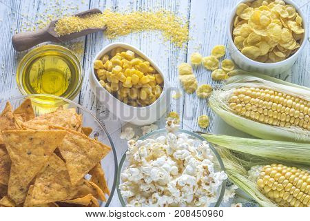 Variation Of Maize Products