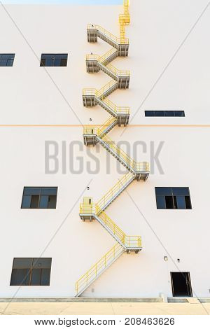 Fire Exit Stairs