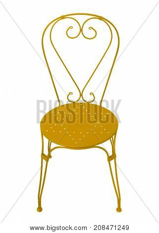 Forged Chair - Yellow