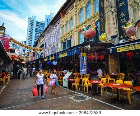 Chinatown Of Singapore