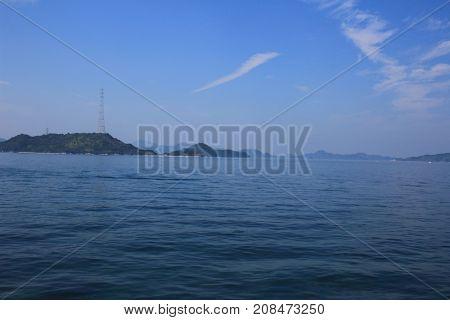 The Seto Inland Sea At Japan