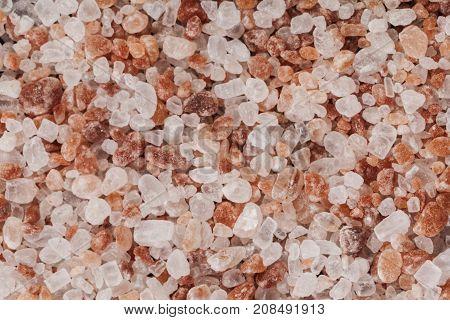 Salt Macro Close-up