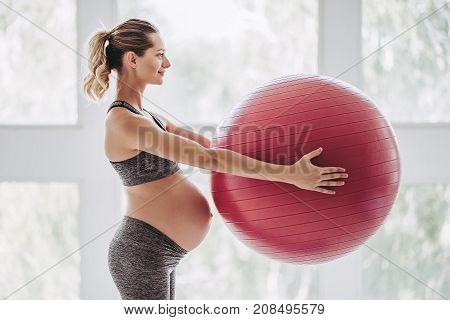 Pregnant Woman Workout