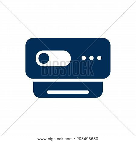 Vector Videoconference Element In Trendy Style.  Isolated Webcam Icon Symbol On Clean Background. poster