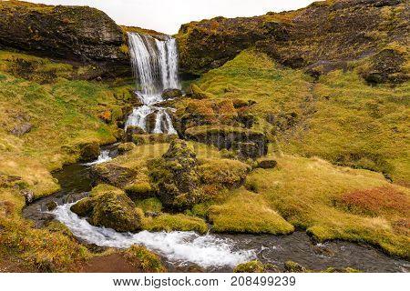 Sheeps Waterfall, Iceland
