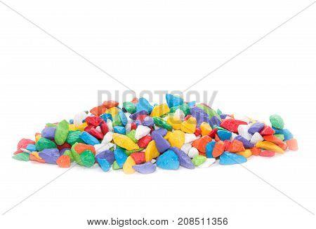 Colorful Pebbles Rock  For Decoration Aquarium Fish Tank