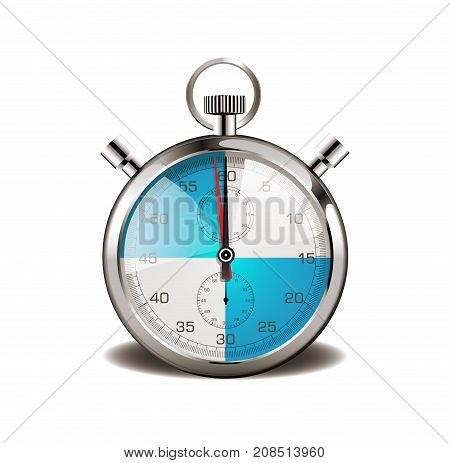 Stopwatch - promotion every quarter of an hour