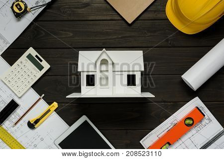 House Model And Architectural Equipment