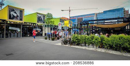 Cityscape Of Christchurch, New Zealand