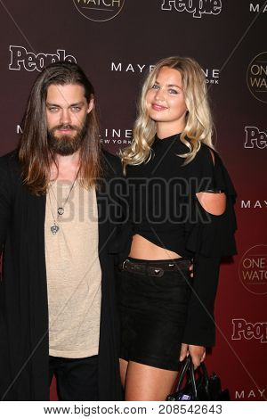 LOS ANGELES - OCT 4:  Tom Payne, Guest at the People's Ones To Watch Party at the NeueHouse Hollywood on October 4, 2017 in Los Angeles, CA