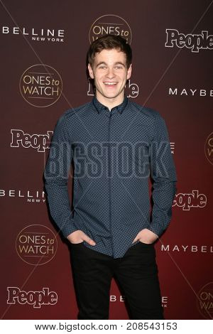 LOS ANGELES - OCT 4:  Graham Patrick Martin_ at the People's Ones To Watch Party at the NeueHouse Hollywood on October 4, 2017 in Los Angeles, CA