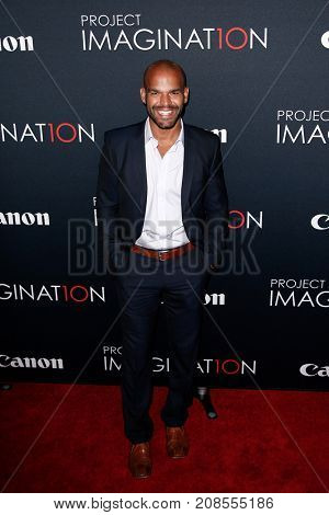 NEW YORK- OCT 24: Actor Amaury Nolasco attends the global premiere of Canon's