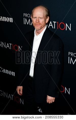 NEW YORK- OCT 24: Director Ron Howard attends the premiere of Canon's 'Project Imaginat10n' Film Festival at Alice Tully Hall at Lincoln Center on October 24, 2013 in New York City.
