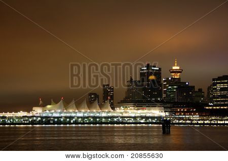 Vancouver from the park