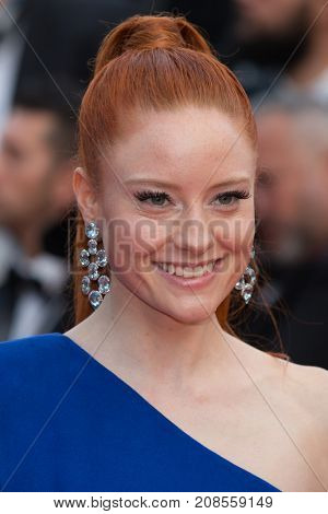 CANNES, FRANCE - MAY 11: Barbara Meier attends the 'Cafe Society' premiere and the Opening Night Gala. 69th annual Cannes Film Festival at the Palais des Festivals on May 11, 2016 in Cannes