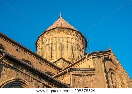 Svetitskhoveli Cathedral Is Georgian Orthodox Cathedral Located In The Historical Town Of Mtskheta,
