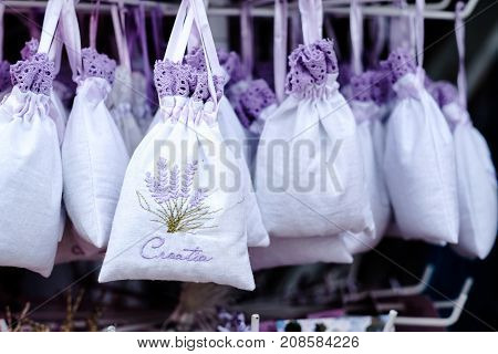 Lavender Souvenir in Croatia lavender gifts for sale