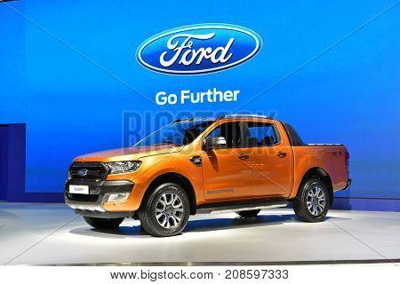 Ford Ranger In The 38Th Bangkok International Thailand Motor Show 2017