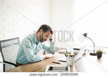 Frustrated Manager At Work