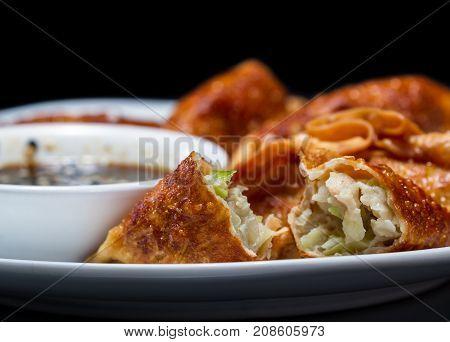 Crispy Pork Potstickers
