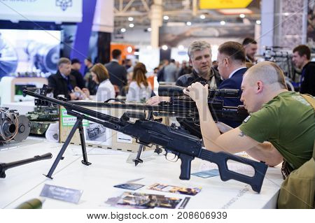 New Sniper Rifle At The Exhibition