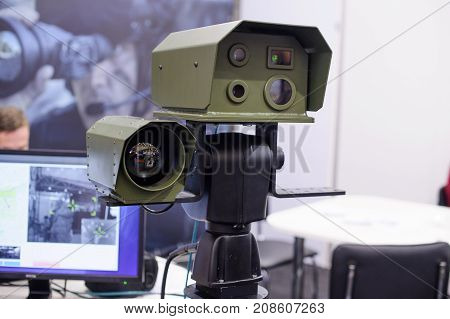 The Optical Observation Complex Includes A Night Vision Device And A Thermal Imager