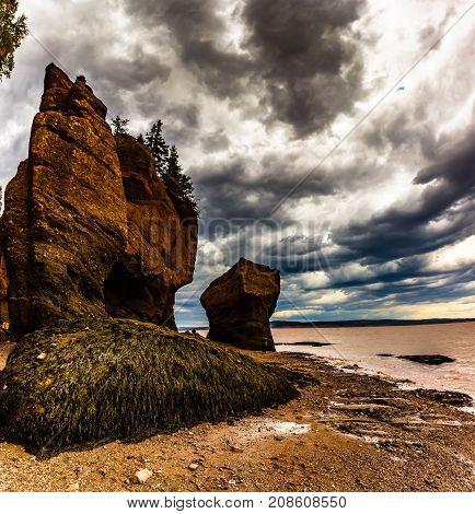 Hope well Rocks in New Brunswick, Canada