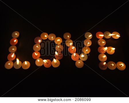 Love With Candles